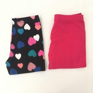 🌸3/$30🌸 2 pairs of Total Girl leggings